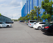 約100台の駐車スペース